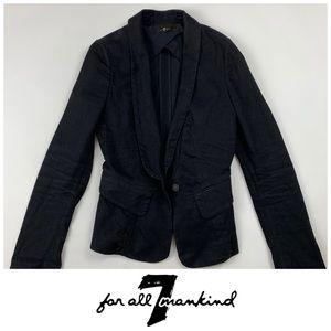 7FAM Black Blazer
